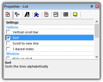 Screenshot for The Fundamentals of the List Object